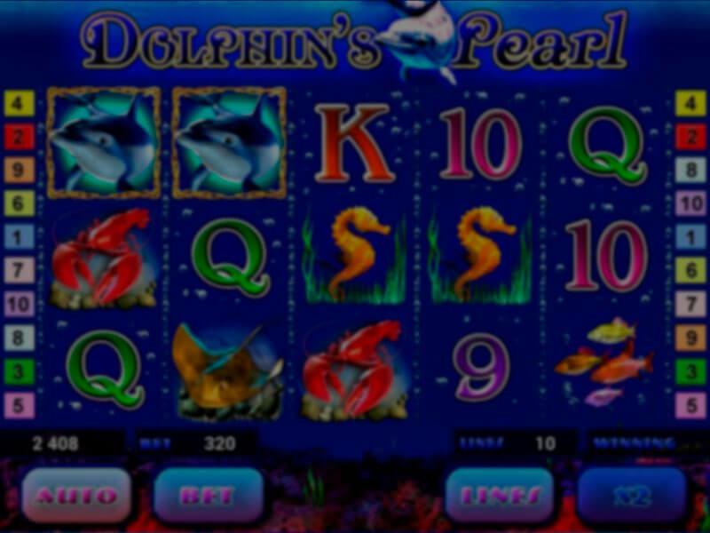Machine à sous Dolphins Pearl et ses caractéristiques